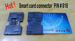 Smart card connector,818